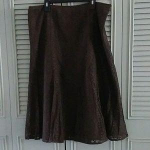 Liz Claiborne Collection Lace Skirt